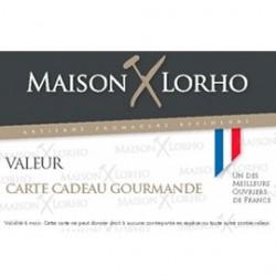 Carte cadeau gourmande Maison Lorho 30 €
