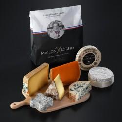 """Panier de fromages surprises """"Soutien aux producteurs"""""""