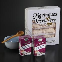 Meringues Suisses et crème double